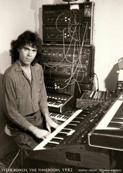 steve Roach in the Timeroom in 1982