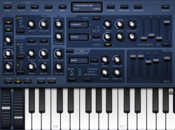 Sunrizer iPad software synthesizer