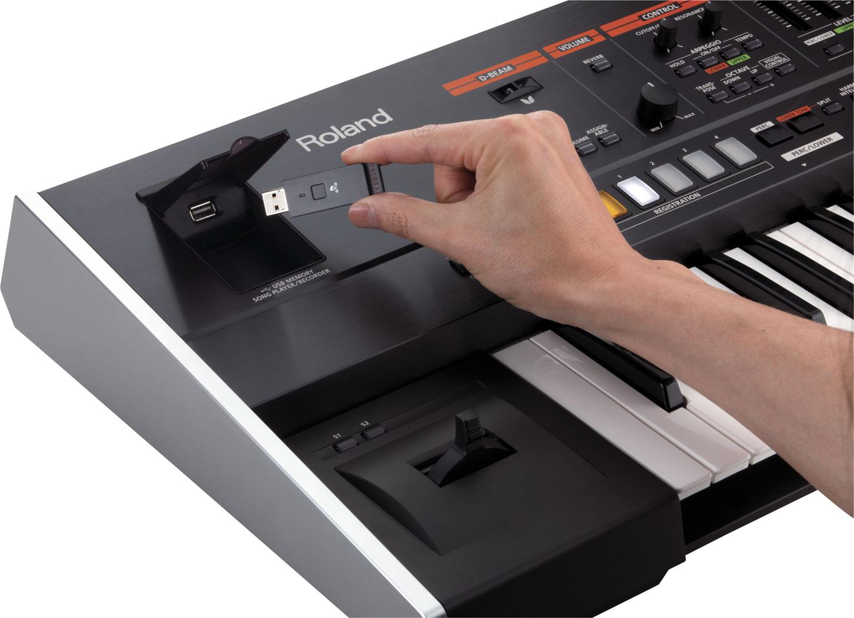Roland Jupiter-50 Synthesizer Puts Jupiter-80 Power Into A