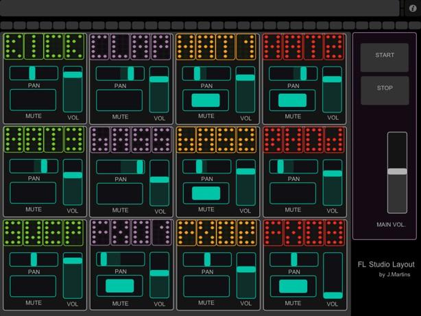 touchosc templates ableton - touchosc controller for fl studio s step sequencer
