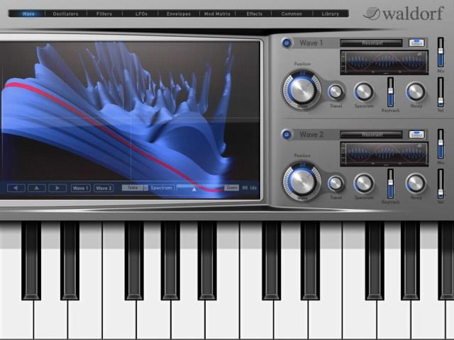 waldorf ipad synthesizer