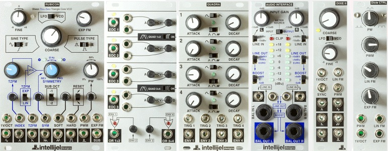 6 new eurorack synth modules from intellijel synthtopia. Black Bedroom Furniture Sets. Home Design Ideas