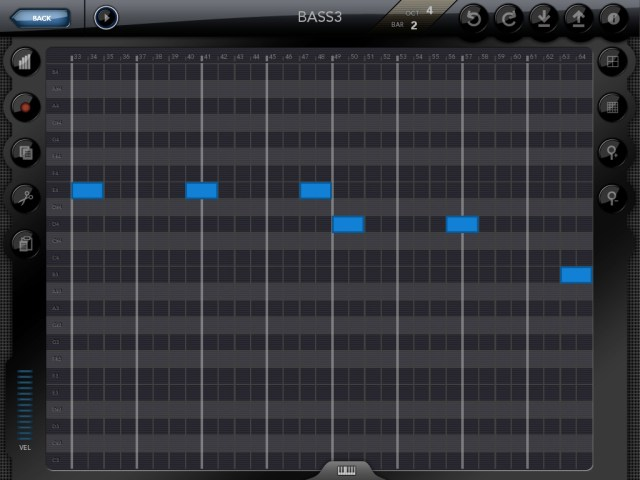 Genome MIDI sequencer for iPad