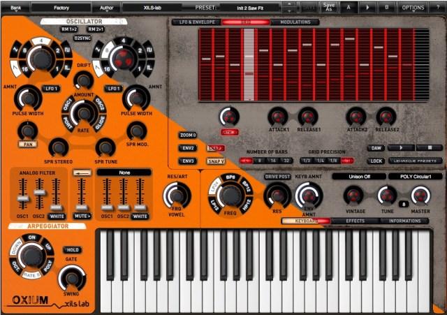 Oxium synthesizer