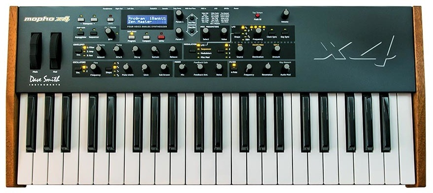 dave smith intros mopho x4 polyphonic analog synthesizer synthtopia. Black Bedroom Furniture Sets. Home Design Ideas