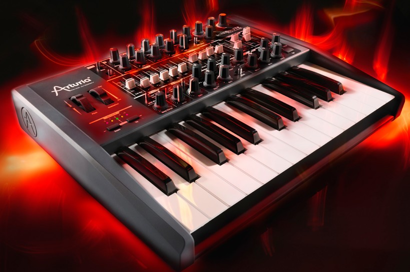 arturia minibrute analog synthesizer review synthtopia. Black Bedroom Furniture Sets. Home Design Ideas