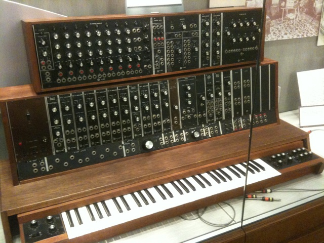 the first commercial moog synthesizer