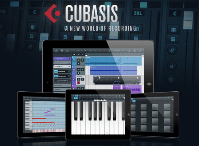 Steinberg Cubasis brings Cubase to the iPad