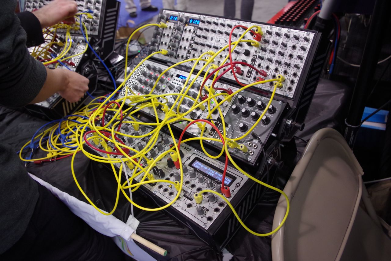Modular Synthesizers At The 2013 Namm Show Synthtopia