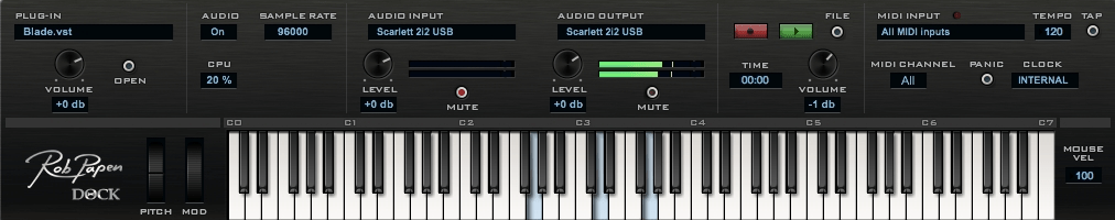 free music keyboard  for mac
