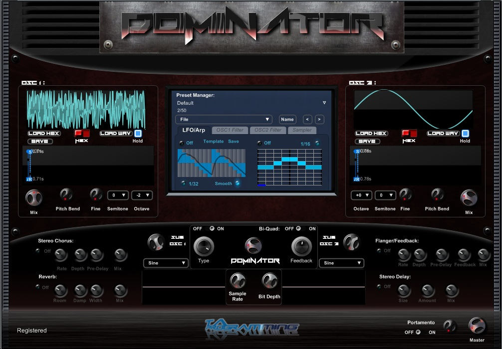 new synth dominator features multi cycle wave analyzing synthesis synthtopia. Black Bedroom Furniture Sets. Home Design Ideas