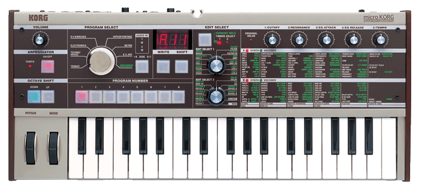 how to use microkorg editor