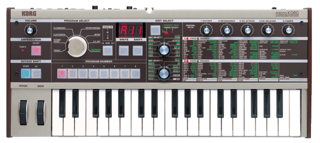 Korg MicroKORG Preset Pack Features 80+ Sounds | Synthtopia