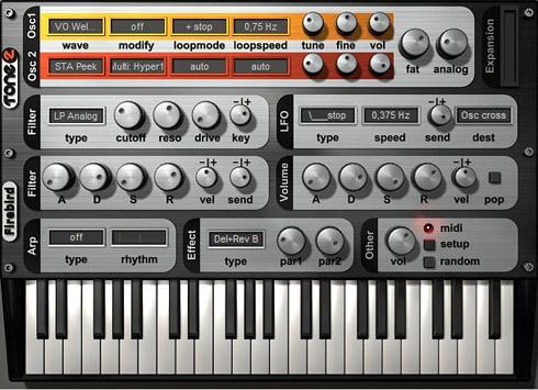 Free Software Synthesizer For Windows – Firebird 2 – Synthtopia