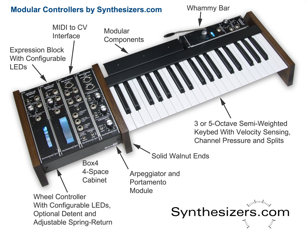new modular control keyboard from even lets you add a whammy bar synthtopia. Black Bedroom Furniture Sets. Home Design Ideas