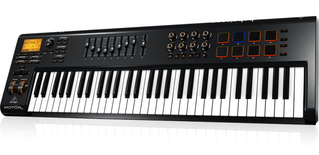behringer mot r midi controllers offer fully motorized