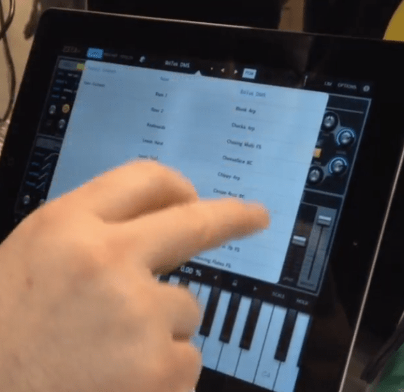 Cakewalk Bringing Z3TA+ Synthesizer To iPad (Sneak Preview