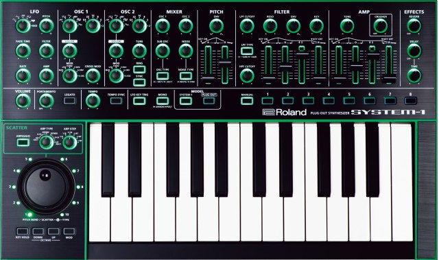 Roland Aira System 1 Plug Out Synthesizer Synthtopia
