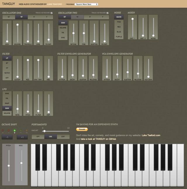 tanguy-web-synthesizer