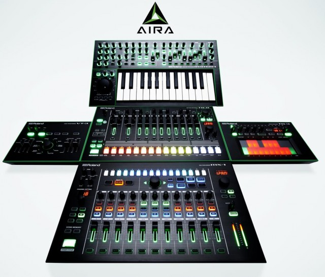 Roland Intros Aira MX-1 Mix Performer 'The Nerve Center