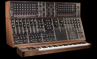 moog brings back the classic moog modular synthesizer synthtopia. Black Bedroom Furniture Sets. Home Design Ideas