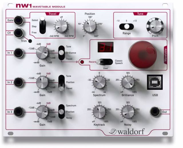 Waldorf-nW1-Wavetable-Module