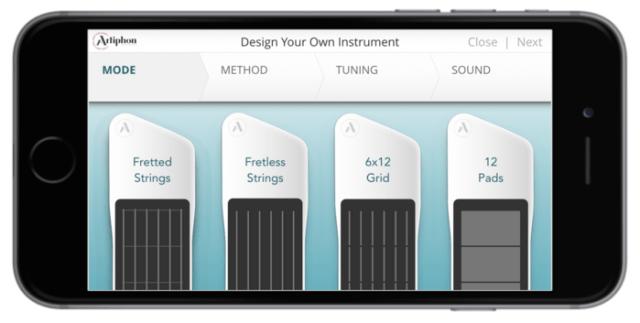 artiphon instrument 1 midi controller available via kickstarter synthtopia. Black Bedroom Furniture Sets. Home Design Ideas