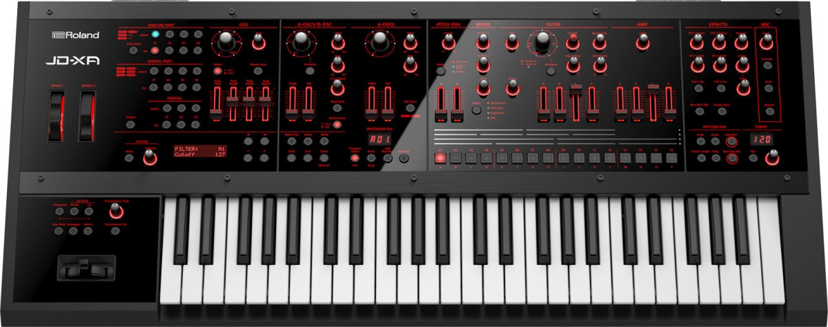 New Coffee Cups Synth Demos Updates >> Roland Updates Jd Xa Synthesizer With Expanded Sound Library