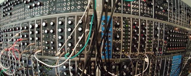 Brian Benting's Massive Moog Format Modular
