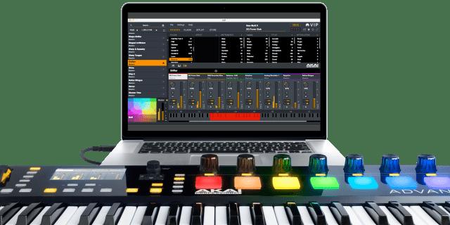akai-pro-advance-keyboard-controller