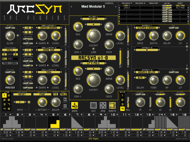 arcsyn-software-synthesizer