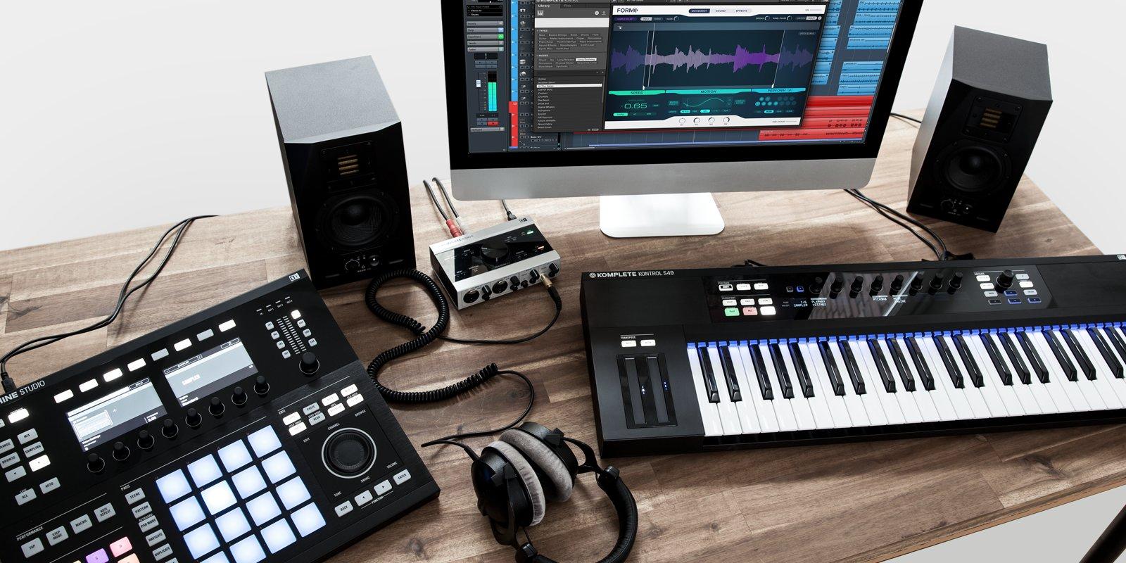Home Recording Studio Design Book Native Instruments Komplete11 Studio Setup Synthtopia
