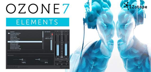 izotope ozone 7 elements a streamlined mastering solution for radio streaming synthtopia. Black Bedroom Furniture Sets. Home Design Ideas