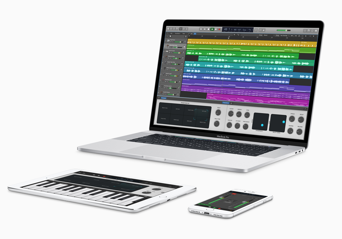 Apple Releases Major Updates To Garageband, Logic Pro X
