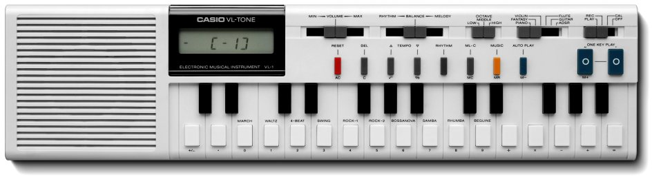 how to program a vintage casio vl 1 vl tone synthesizer synthtopia. Black Bedroom Furniture Sets. Home Design Ideas