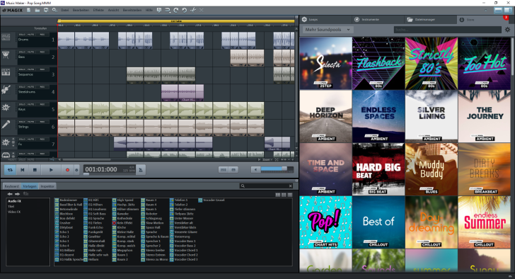 Magix Updates Music Maker With Free Version – Synthtopia