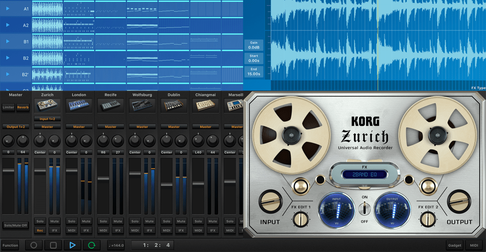 KORG Gadget Le for Mac Available As A Free Download – Synthtopia