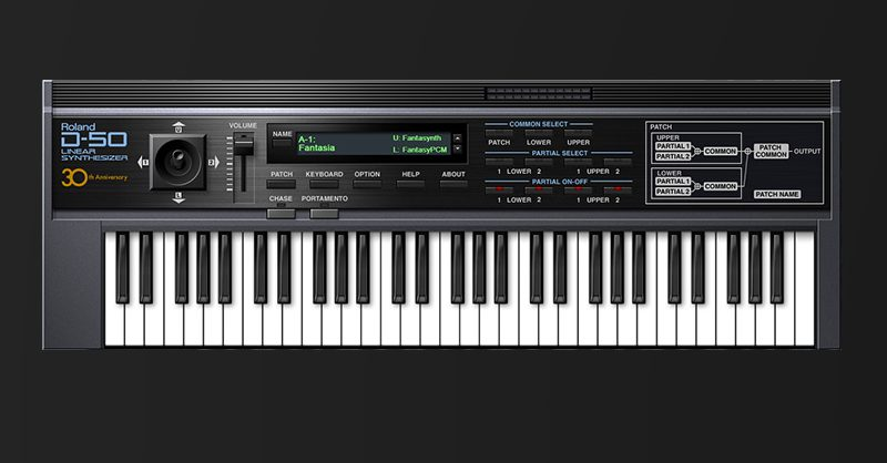 Roland D-50 Linear Synthesizer VSTI Now Available Via Roland Cloud