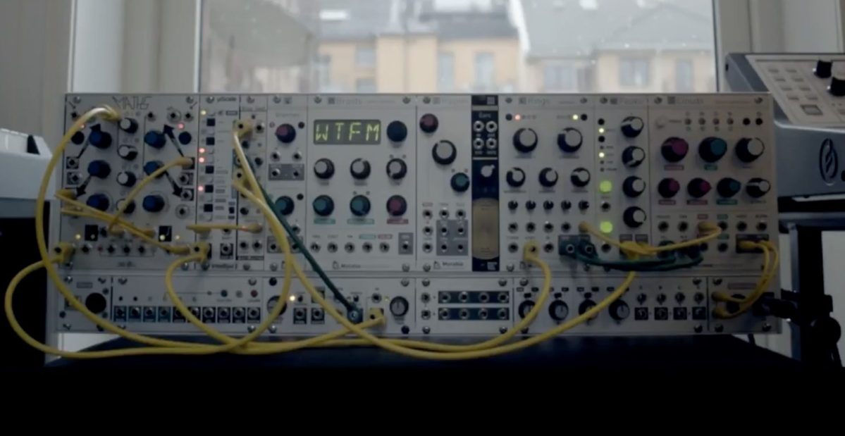Generative Ambient Music For Modular Synthesizer