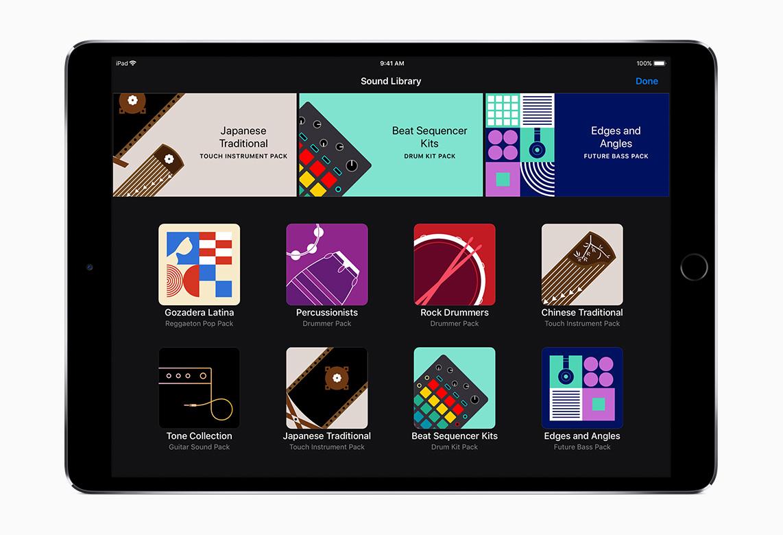 Apple GarageBand Update Intros Sound Library With Free Instruments
