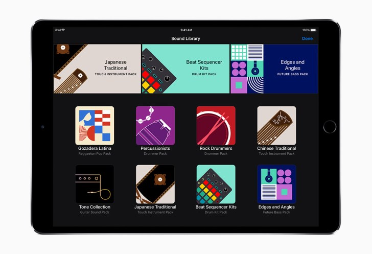 Apple GarageBand Update Intros Sound Library With Free