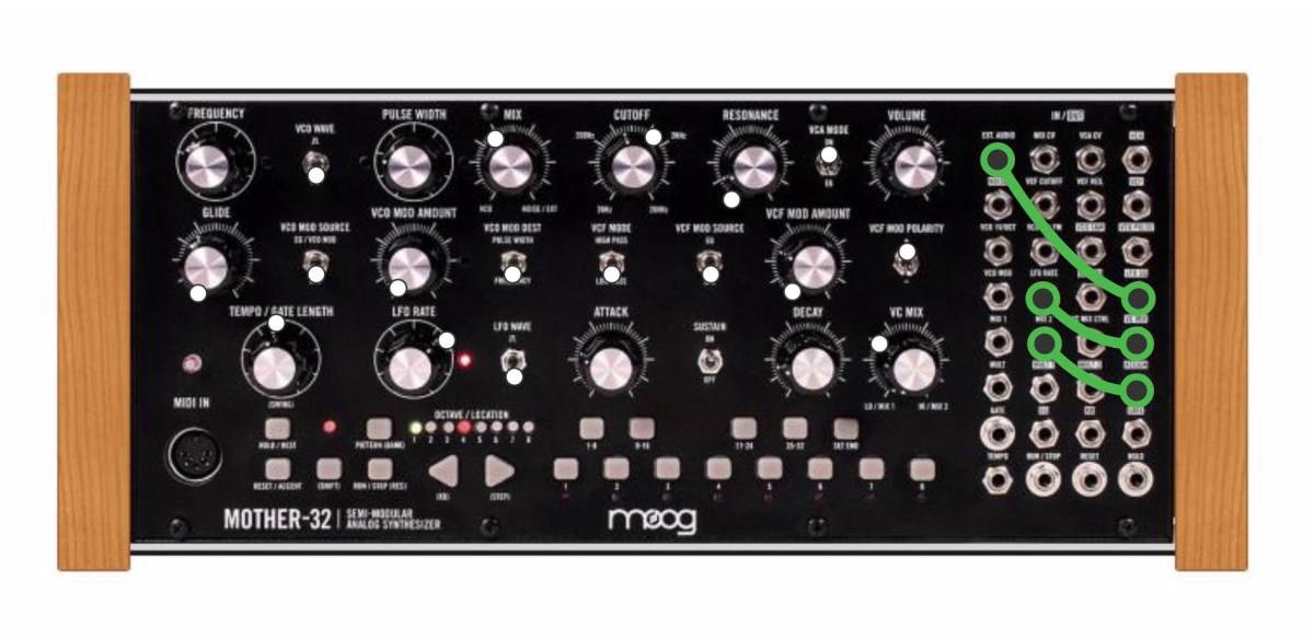playing paraphonically with a moog mother 32 synthtopia. Black Bedroom Furniture Sets. Home Design Ideas