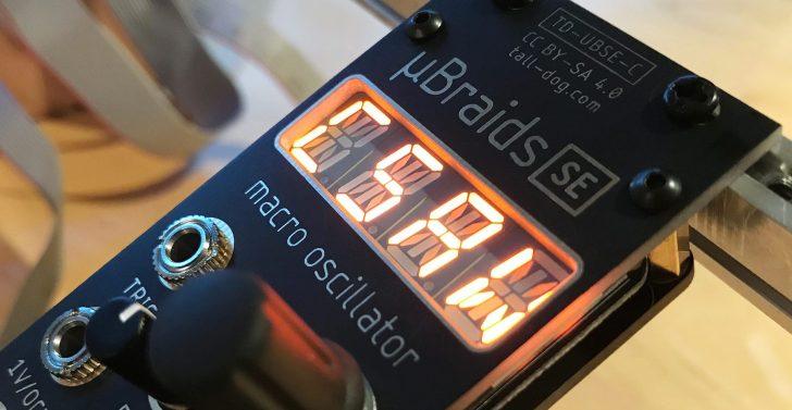 µBraids SE Voltage-Controlled Macro Oscillator For Eurorack