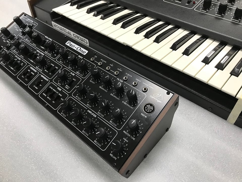 behringer teases pro one clone synthtopia. Black Bedroom Furniture Sets. Home Design Ideas