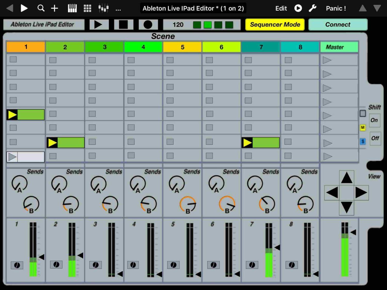 Ableton Live iPad Editor/MIDI Controller – Synthtopia