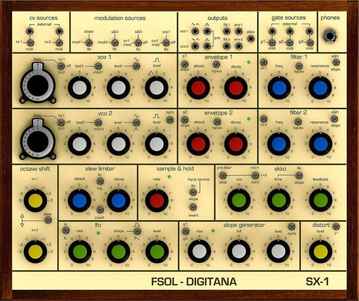 FSOL Digitana SX-1 Synthesizer Available To Order In June 2018