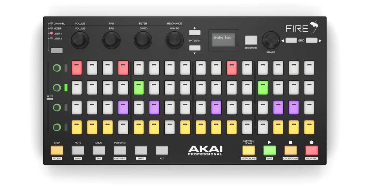 CrossFire Turns Akai Fire Into Powerful Ableton Live Control Surface