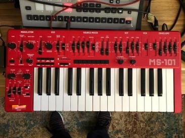 Behringer Ms 101 Synthesizer Now In Production Roland Sh