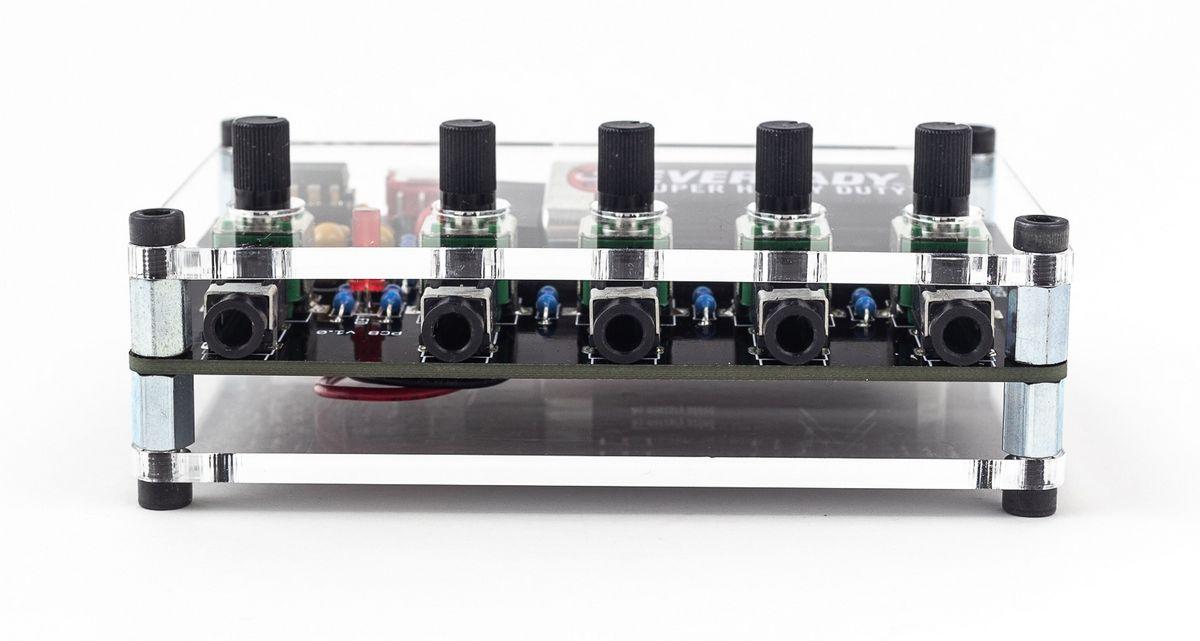 4sum portable audio mixer now available synthtopia. Black Bedroom Furniture Sets. Home Design Ideas