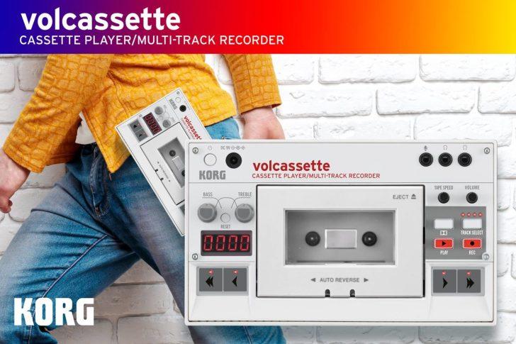 Korg volcassette Cassette Player/Multi-Track Recorder Will